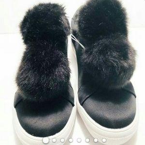 Shoes - pom pom sneakers